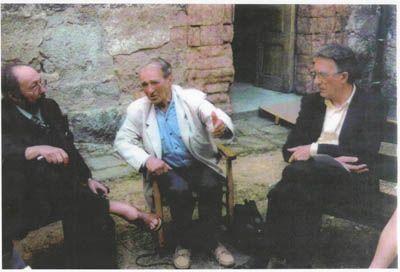 François Tosquelles, Lucien Bonnafé et Jean Oury en 1987